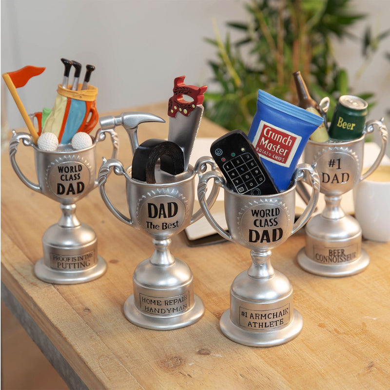 #1 Dad Beer Connoisseur Trophy