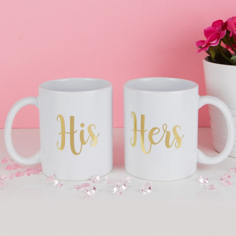 True Valentine Set of 2 His & Hers Mugs