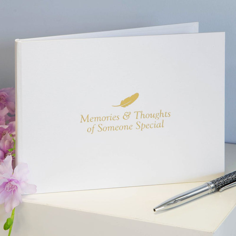 Thoughts of You Book of Condolence - Memories & Thoughts