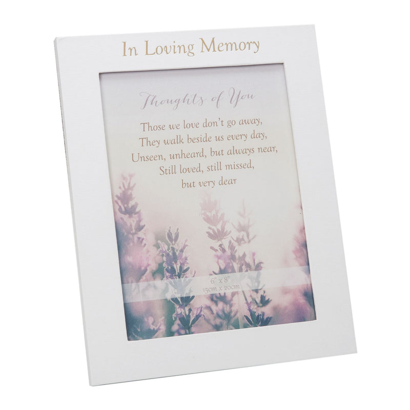 Thoughts Of You Funeral Table Book, Card & Frame