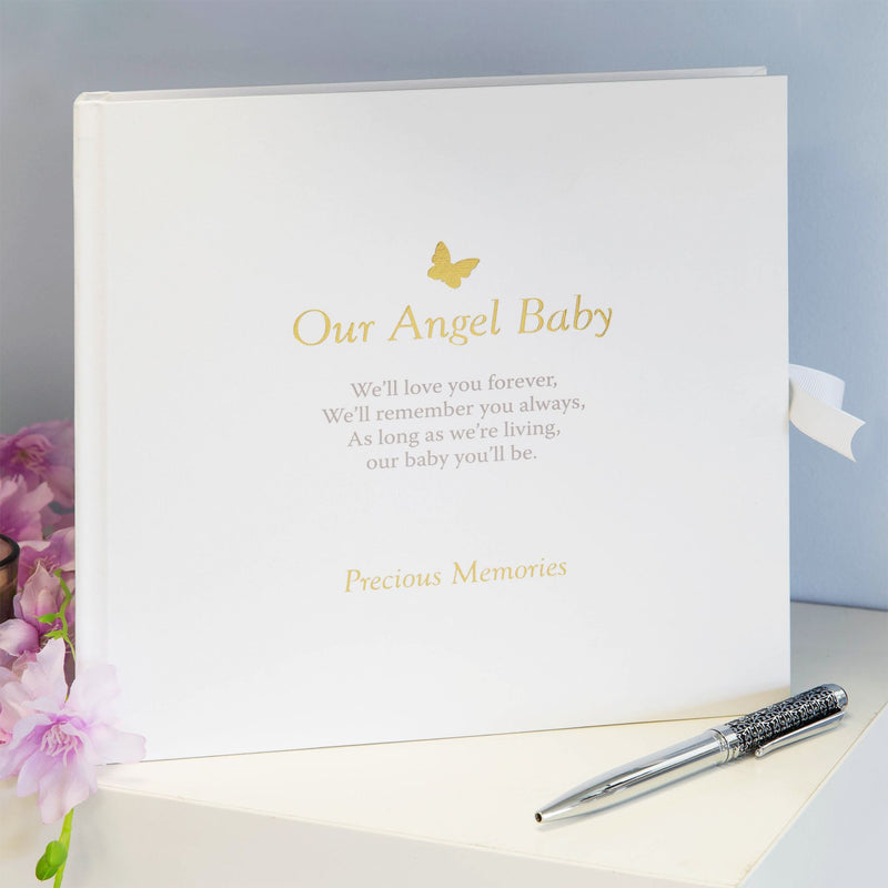 Thoughts of You Memorial Scrapbook - Our Angel Baby