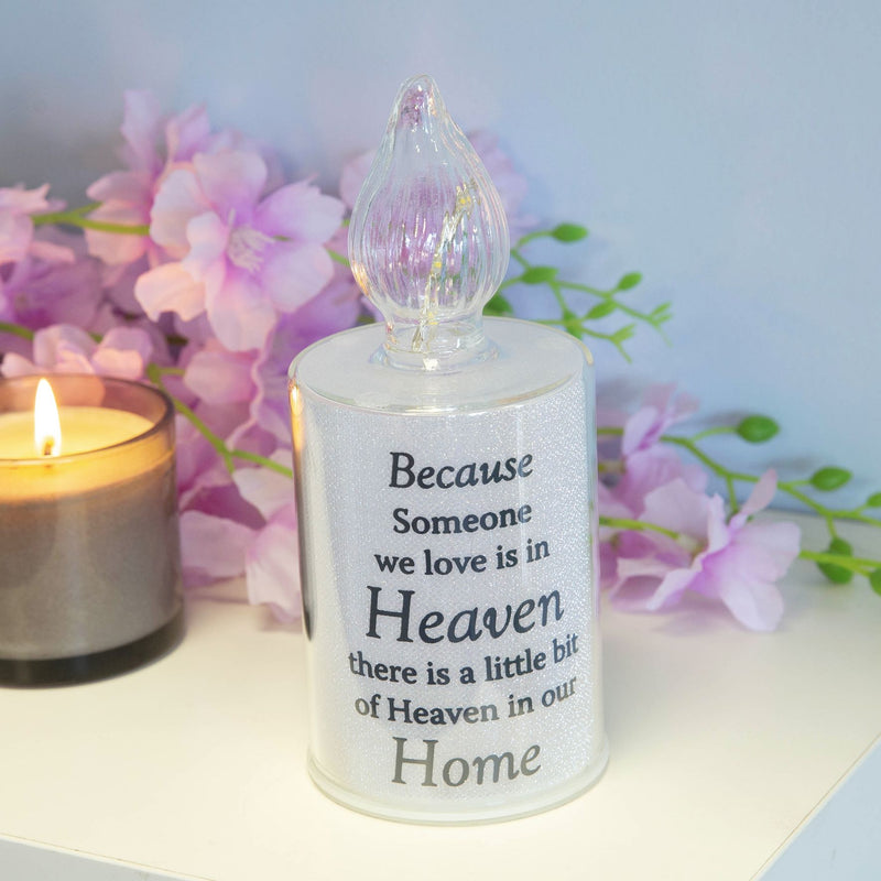 Thoughts Of You Memorial Candle Light - Home