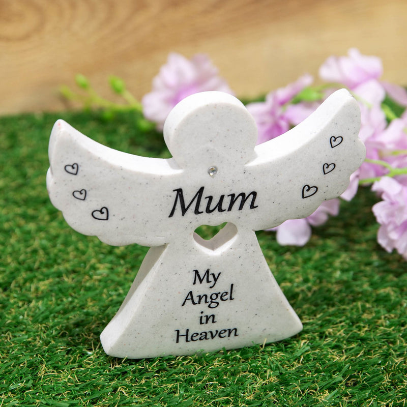 Thoughts Of You Graveside Angel - Mum