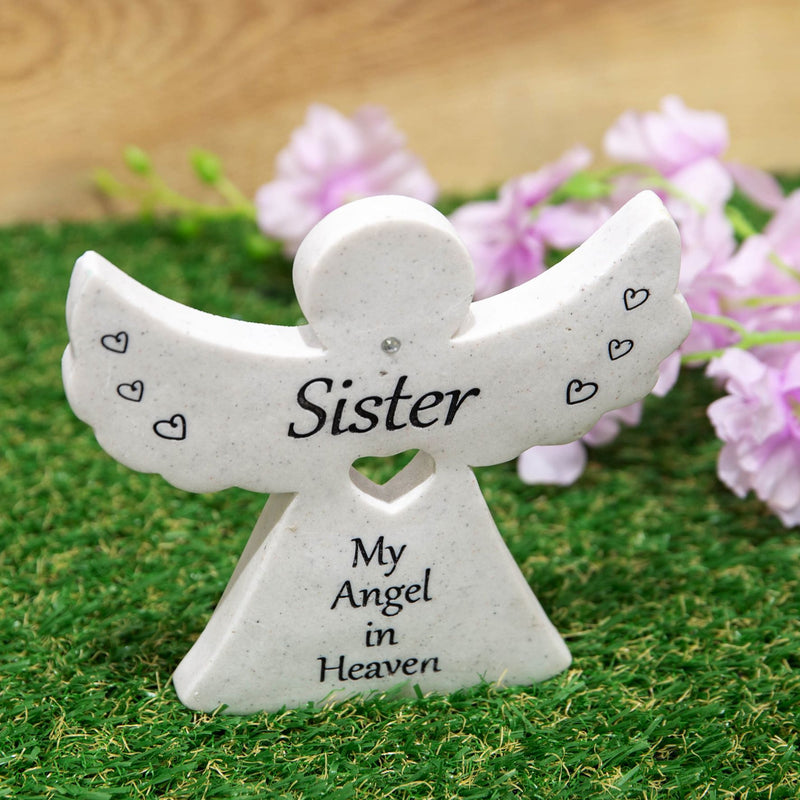 Thoughts Of You Graveside Angel - Sister