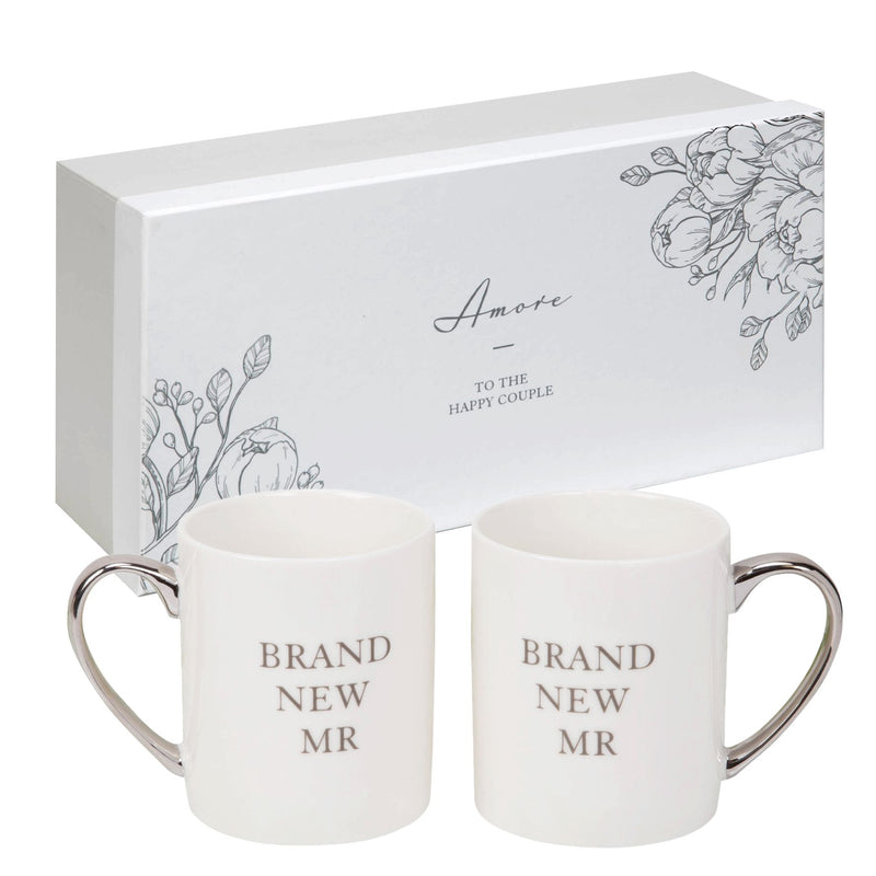 AMORE BY JULIANA® Mug Pair - Brand New Mr