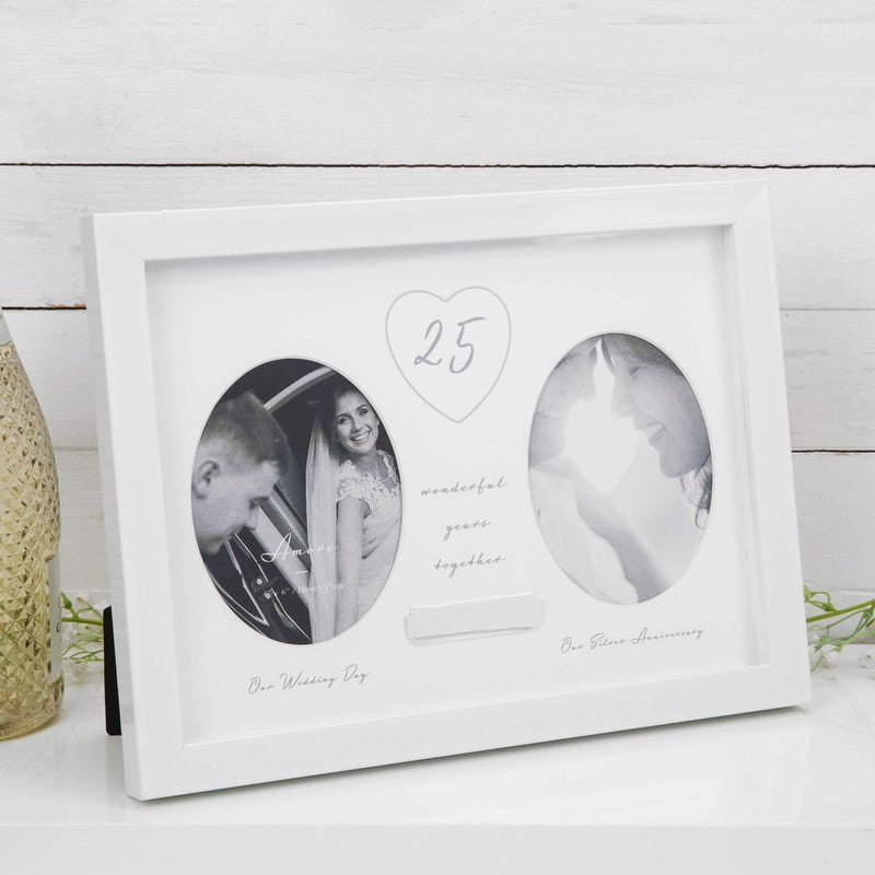 AMORE BY JULIANA® 25th Anniversary Frame - Engraving Plate
