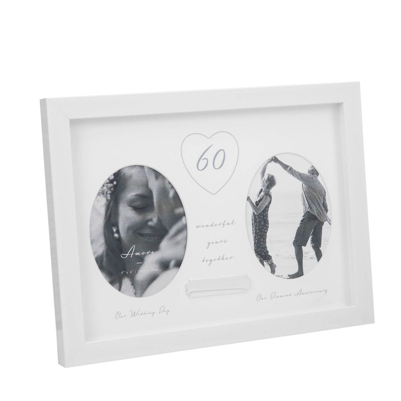 AMORE BY JULIANA® 60th Anniversary Frame - Engraving Plate