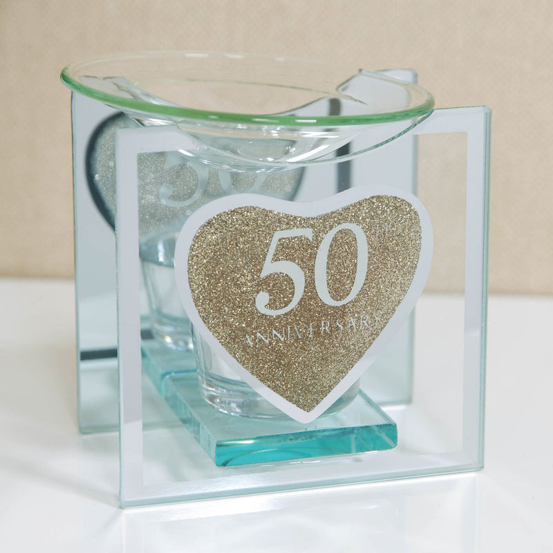 CELEBRATIONS® 50th Anniversary Gold Glitter Oil Burner