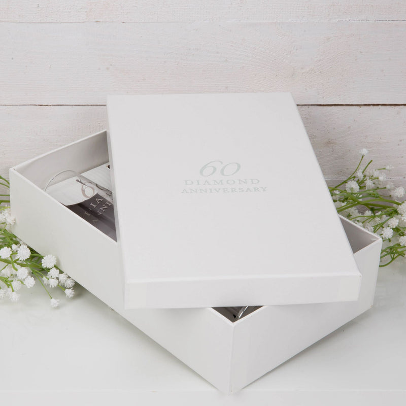 AMORE BY JULIANA® Straight Flute Set of 2 - 60th Anniversary