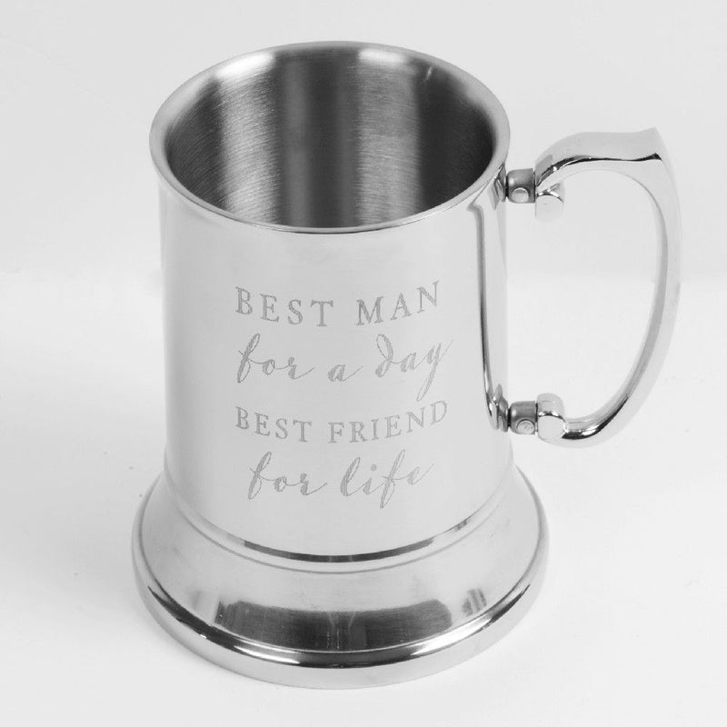 AMORE BY JULIANA® Metal Tankard - Best Man