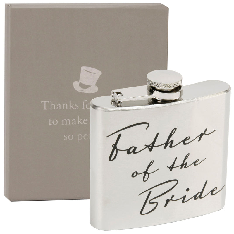 AMORE BY JULIANA® Father of the Bride Hip Flask