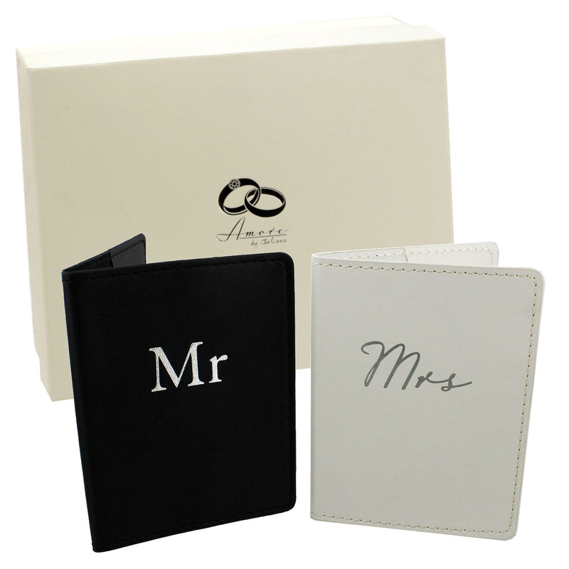 AMORE BY JULIANA® Passport Holders - Mr & Mrs