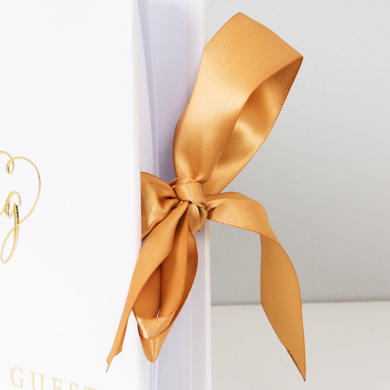 Juliana Always & Forever Gold Foil Guest Book - Our Wedding