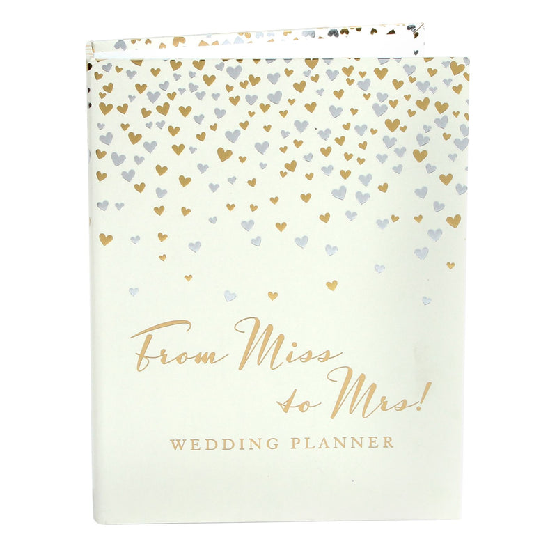AMORE BY JULIANA® Little Hearts Wedding Planner with Divider