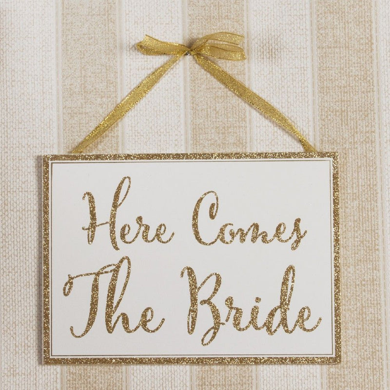 Always & Forever Here Comes The Bride Plaque