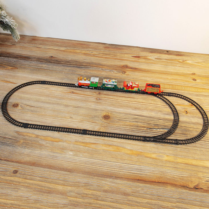 Christmas 11 Piece Train Set