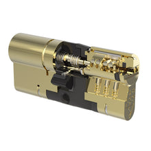 Load image into Gallery viewer, Brass Yale Anti-snap Euro Cylinder Lock, buy now from Anglian Home Improvements