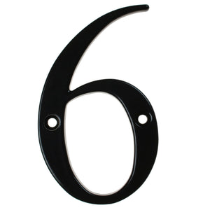black house number six, buy online at Anglian Home Improvements