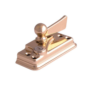 Cam Lock for Sash Window in Gold