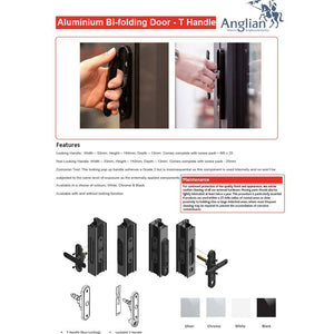 Aluminium Bifold Door Handle