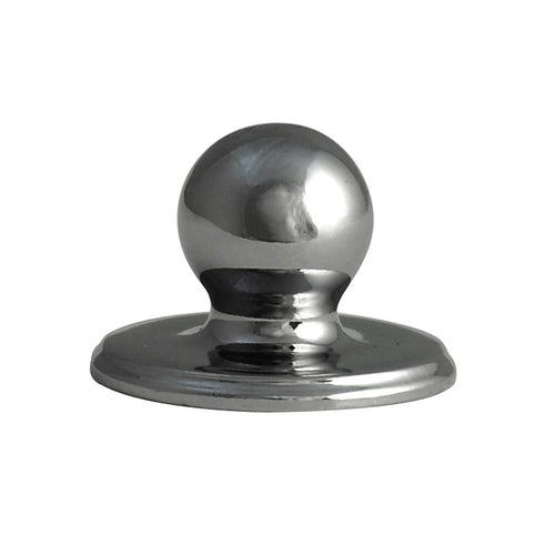 Decorative Latch Knob for Sash Window in Chrome