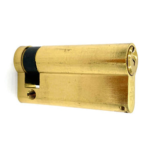 Brass Euro Half Cylinder Lock 65mm, available at Anglian Home Improvements
