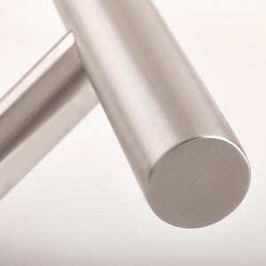Chrome 1200mm Door Pull Handle - Classic T-Bar design close up, available from Anglian Home Improvements