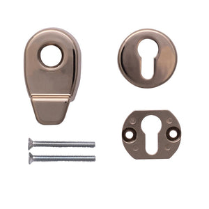 Gold Door Pull Escutcheon Set from Anglian Home Improvements