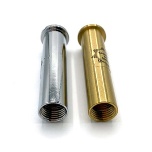 55mm chrome and gold spy hole extenders, buy now at Anglian Home Improvements