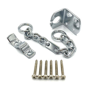 Chrome security chain set, buy now at Anglian Home Improvements