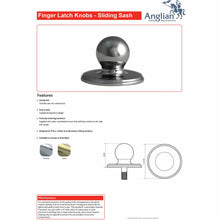 Load image into Gallery viewer, Sash Window Decorative Latch Knob