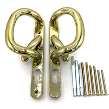 Load image into Gallery viewer, Gold Patio Door Handle set, buy now at Anglian Home Improvements