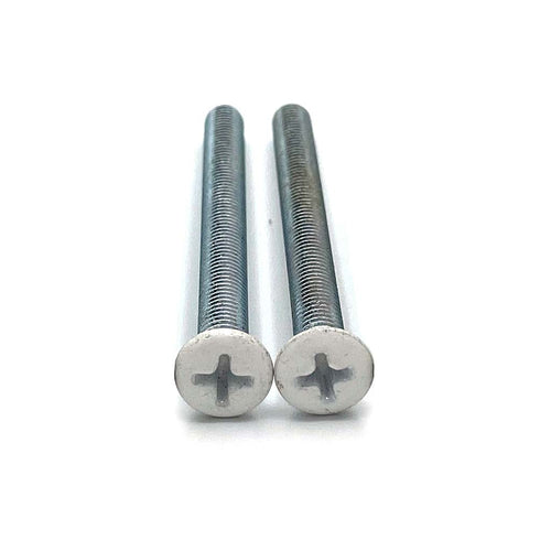 White composite replacement door handle screws, buy now at Anglian Home Improvements