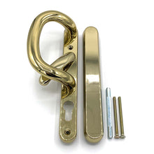Load image into Gallery viewer, Gold Patio Door Handles - external blank, buy now at Anglian Home Improvements