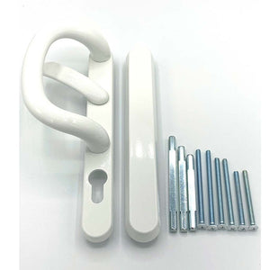 White Patio Door Handles - external blank, buy now at Anglian Home Improvements