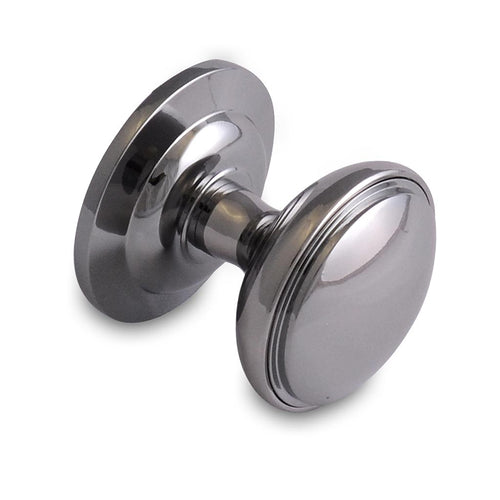 Chrome external door knob from Anglian Home Improvements