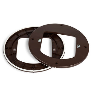 Brown cat flap adaptor, buy now from Anglian Home Improvements