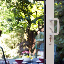Load image into Gallery viewer, White Aluminium Sliding Patio Door Handle