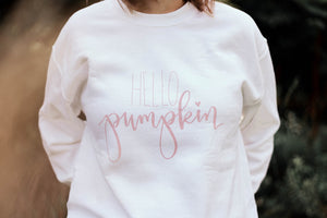 Hello Pumpkin - Cozy Warm Sweatshirt