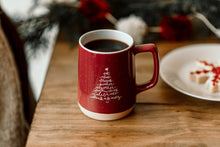 Load image into Gallery viewer, Speckled Christmas Tree Gather Mug - 12 oz