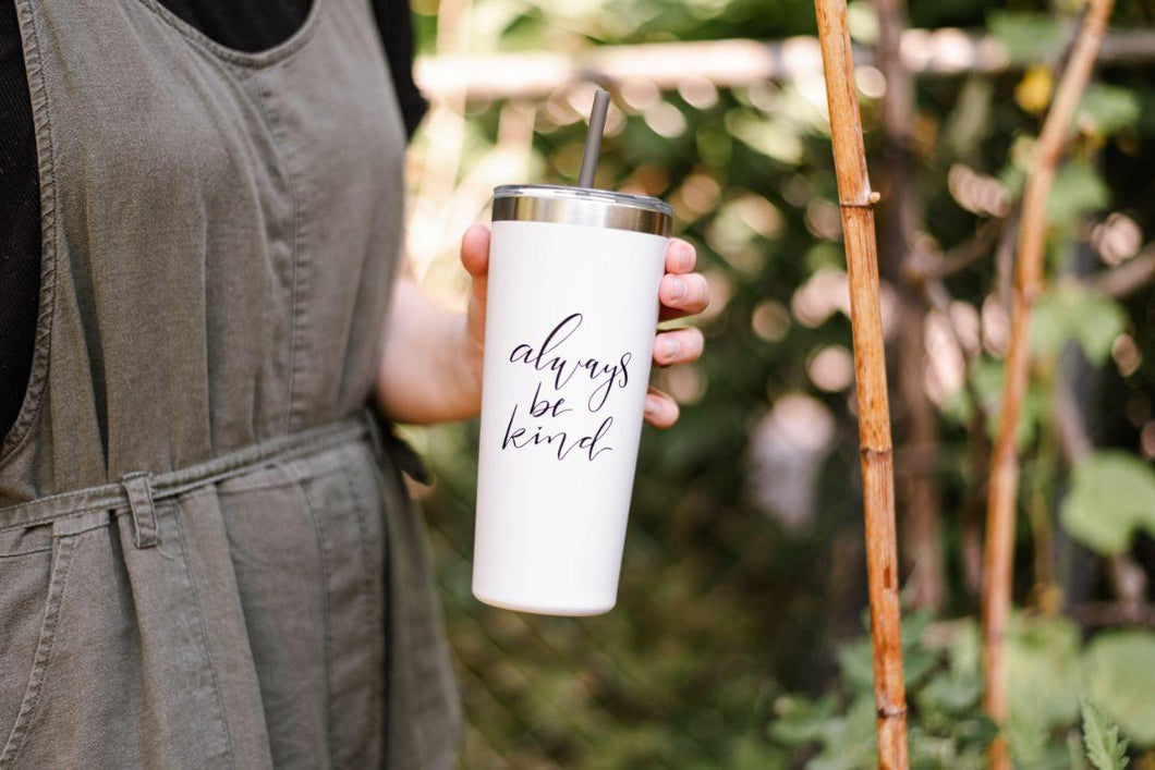 Imperfect Always Be Kind - 22oz Hot/Cold Tumbler