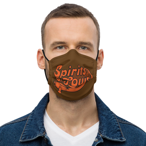 ABA SPIRITS OF STL | 60´S OLD SCHOOL Premium face mask