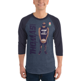#13 ANTHONY THOMAS LIMITED EDITION | 3/4 sleeve raglan shirt