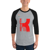 KENNETH VIQUE BRAND | ABAMX FANATIC 3/4 sleeve raglan shirt