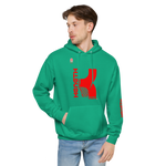 KENNETH VIQUE BRAND | ABAMX FANATIC HANES BRAND-Unisex fleece hoodie