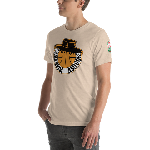 ANAHEIM AMIGOS | ABA OLD SCHOOL - Short-Sleeve Unisex T-Shirt