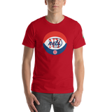 NEW YORK NETS | RETRO OLD SCHOOL ABA - Short-Sleeve Unisex T-Shirt