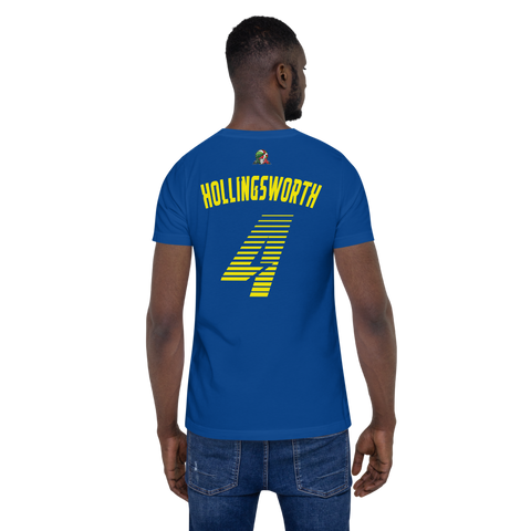 GARY HOLLINGSWORTH #4 | AWAY Short-Sleeve Unisex T-Shirt
