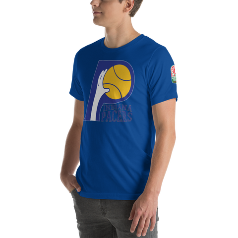 ABA INDIANA PACERS | ABA OLD SCHOOL RETRO  -  Short-Sleeve Unisex T-Shirt