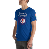 KENTUCKY COLONELS | ABA OLD SCHOOL - Short-Sleeve Unisex T-Shirt